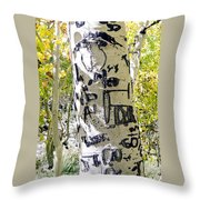Presidential Tree Throw Pillow
