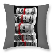 Presidents For Ransom Throw Pillow
