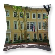 President's Residence University Of South Carolina Throw Pillow