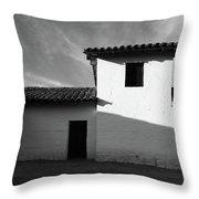 Presidio Shadows- Art By Linda Woods Throw Pillow