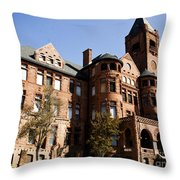 Preston Castle Throw Pillow