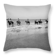 Preswim Throw Pillow
