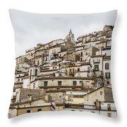 Pretoro - An Ancient Village  Throw Pillow