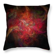 Pretty Face Evil Soul Throw Pillow