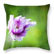 Pretty Flower Throw Pillow