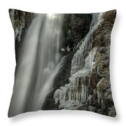 Pretty In Ice Throw Pillow