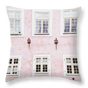 Pretty In Pink- Art By Linda Woods Throw Pillow by Linda Woods