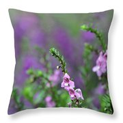 Pretty In Pink N Purple Throw Pillow