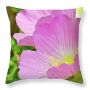 Pretty In Pink Two Throw Pillow