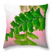 Pretty Maiden Throw Pillow