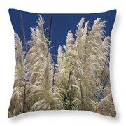 Pretty Pampas Throw Pillow
