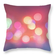 Pretty Pastels Abstract Throw Pillow