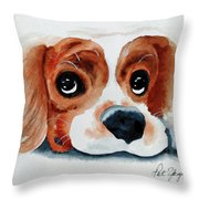 Pretty Please? Throw Pillow