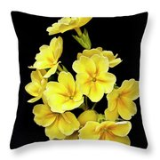 Pretty Primrose Throw Pillow