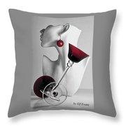 Pretty Woman 3 Throw Pillow