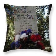 Price Of Independence And Liberty Throw Pillow