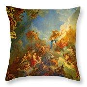 Priceless Art In Versailles Throw Pillow