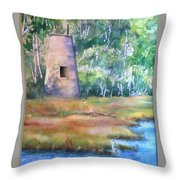 Price's Creek Light Throw Pillow
