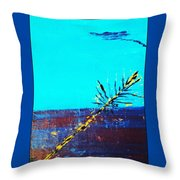 Prickles And Goo Throw Pillow