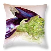 Prickly And Voluptuous Throw Pillow