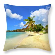 Prickly Bay Wide Throw Pillow
