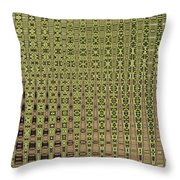 Prickly Pear Abstract # 5271wt Throw Pillow