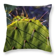 Prickly Pear Study No. 9 Throw Pillow