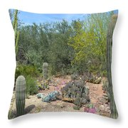 Prickly Pearadise Throw Pillow