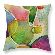 Prickly Pizazz 2 Throw Pillow by Hailey E Herrera
