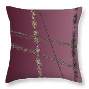 Prickly Series 6-10-2015 #5 Throw Pillow