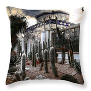 Pricklyscape Throw Pillow