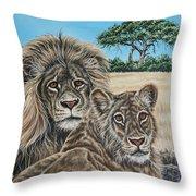 Pride 2 Throw Pillow