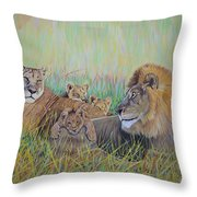 Pride Family  Throw Pillow