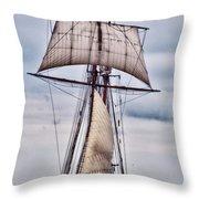 Pride Of Baltimore II  5986 Throw Pillow