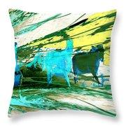 Pride Of Pegasus Throw Pillow