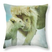 Pride Painting Throw Pillow