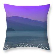 Priest Lake - Idaho's Crown Jewel Throw Pillow