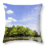 Priest Lake Throw Pillow