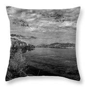Priest River Panorama 2 Throw Pillow