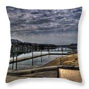 Priest River Panorama 6 Throw Pillow