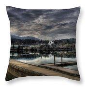 Priest River Panorama 7 Throw Pillow