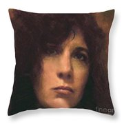 Priestess Of Avalon Throw Pillow