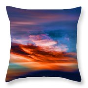 Primary Energy Throw Pillow