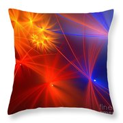 Primary Wishes Throw Pillow