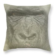Primate Throw Pillow