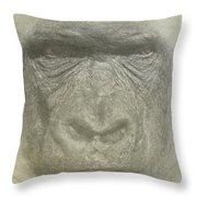 Primate Throw Pillow