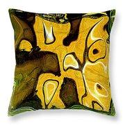 Primative Throw Pillow