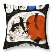 Prime Allotment Abstract Throw Pillow