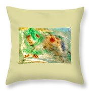 Primitive Spirt Throw Pillow