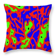 Primordial Life Throw Pillow